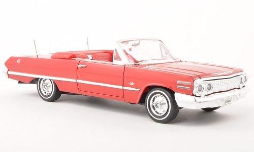 chevrolet-impala-rosso-aperto-1963-modello-di-automobile-modello-prefabbricato-welly-124-modello-esc