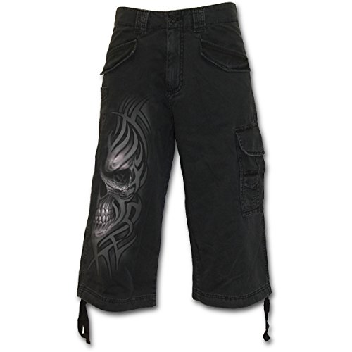 Spiral Death Rage Pantaloncini Vintage nero XL