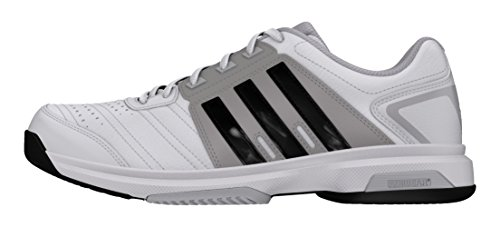 adidas Men's Barricade Approach Str Ftwwht, Cblack and Lgsogr Tennis Shoes - 11 UK/India (46 EU)