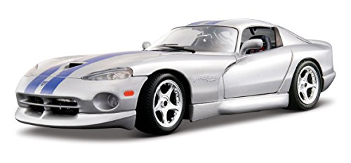 dodge-viper-gts-coupe-scale-118-silver