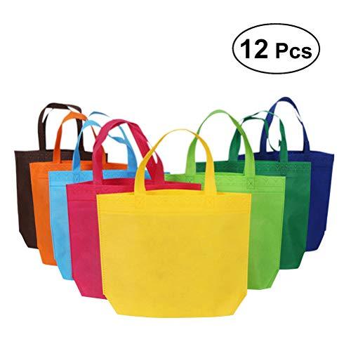 Tragetaschen | Einkaufstüten Geschenktüten - 26 x 33 cm, 12 Stück ()