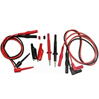 AideTek Test Leads for Fluke Multímetro Tester tl809 Electronic Test Lead Kit
