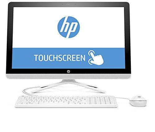 Preisvergleich Produktbild HP 24-g052ng (X0Z83EA) 60,45 cm (23,8 Zoll / FHD IPS Touchscreen) All in One Desktop PC (Intel Core i3-6100U, 4GB RAM, 1 TB HDD, Intel HD-Grafikkarte 520, Windows 10 Home 64) weiß