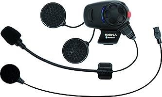 Sena SMH5-UNIV Auricolari e Intercom Bluetooth per Scooter/Motocicli con Kit del Microfono Universale