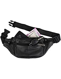 Good Life Stuff Stylish Genuine Leather Waist Pack|| Waist Bag|| Travel Passport Bag|| Travel Accessories Bag|... - B07DRF1S2P