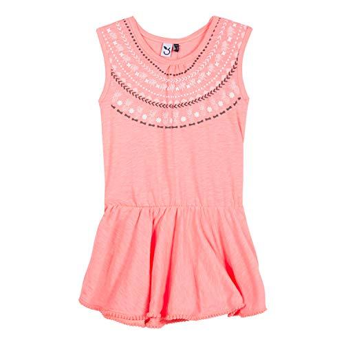 3 pommes Baby-Mädchen 3n31012 352 Dress Kleid, Tropical Pink, 6-9 Monate (Herstellergröße: 6/9M)