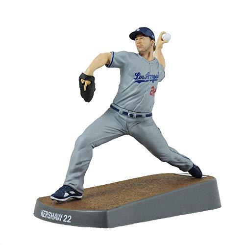 (Imports Dragon 2017 Clayton Kershaw Los Angeles Dodgers MLB Figur (16 cm))