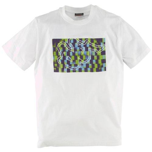 Kappa–Maglietta da uomo Ferry bianco