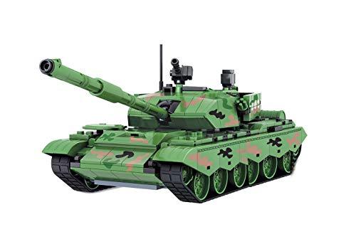 Modbrix Bausteine NATO Panzer Konstruktionsspielzeug 492 Teile, 28 cm