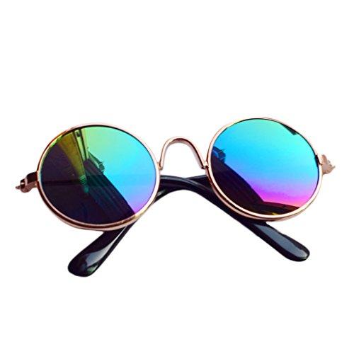 Cuigu Puppe Brillen Sonnenbrille für BJD American Grils Spielzeug Foto Requisiten (3)