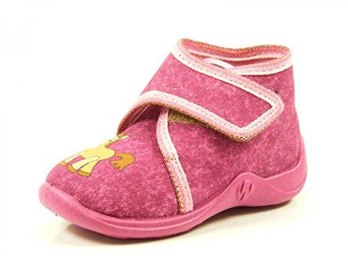 Rohde 2103 Kleinkinderhausschuh 47 Pink Violett