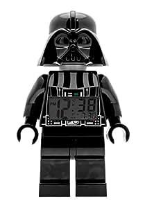 ClicTime - 9002113 - Lego Star Wars Darth Vader Minifiguren Wecker - schwarz