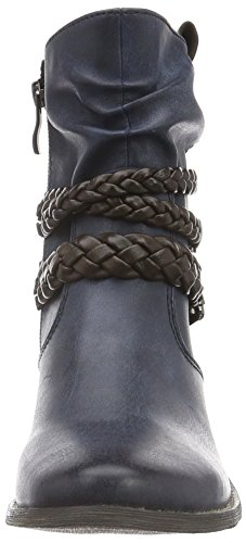 Marco Tozzi Damen 25354 Kurzschaft Stiefel Blau (Navy Antic Com 820)
