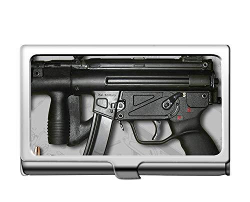 Professioneller Geschäftskreditkartenkoffer/ID-Fall, Waffen-Maschinenpistole ()