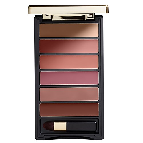 L'Oréal Paris Lippen Make-up Color Riche La Palette Lip nude / Lippenstift Palette mit 6 harmonierenden Farbtönen für volle Lippen, 1er Pack (Lip Color Palette)