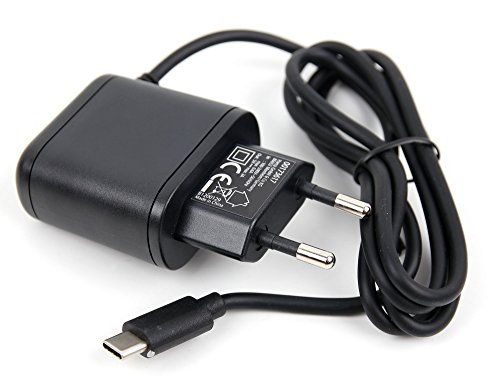 3 Amp Netzstecker (USB C) für GoPro Hero6 Black, Fusion, Hero5 Session und Hero5 Black Action Kameras (3 Amp Stromversorgung)