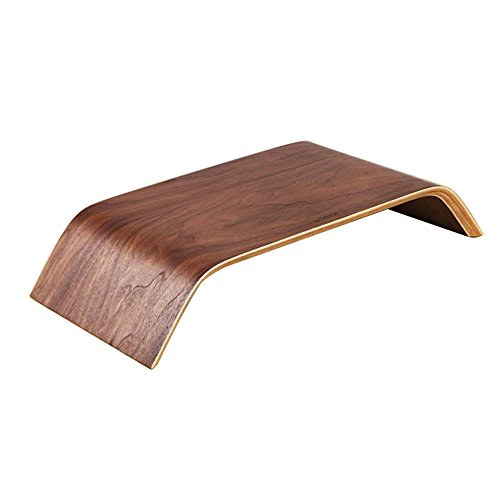 Houyuanshun DSC Racks Wooden Raised Rack Notebook Monitor Desktop Storage Bamboo Shelf 41 xa0bsNUL