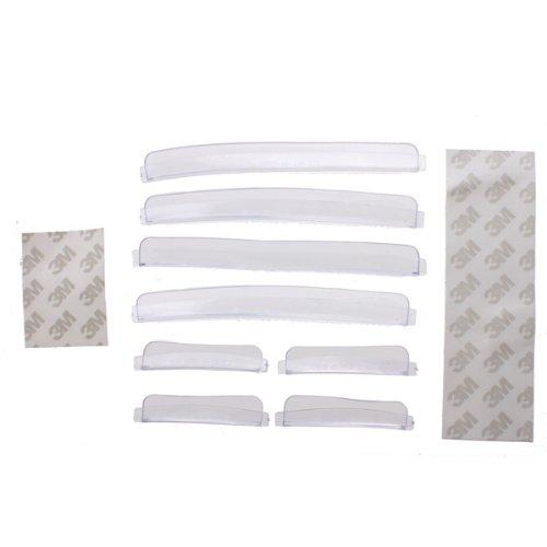 Preisvergleich Produktbild TOOGOO(R) 8pcs Car Door Edge Guards Trim Molding Protection Strip Scratch Protector Clear