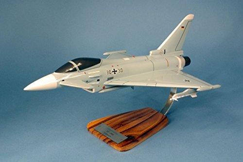 fighter Typhoon - maquette de collection décoration peinte main