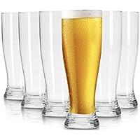 Pasabahce München vasos de cerveza - 600 ml - conjunto de 6 - gafas de alta calidad - Lavavajillas- vasos de cristal