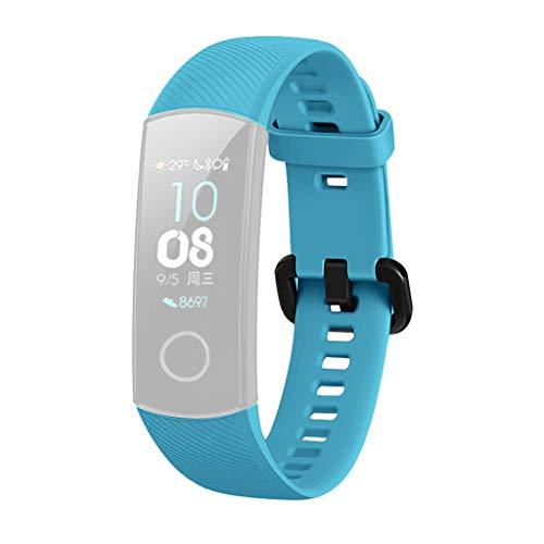 Webla Uhrenarmband für Huawei Honor 5 Sports Silikonarmband Uhrenarmband, Metall