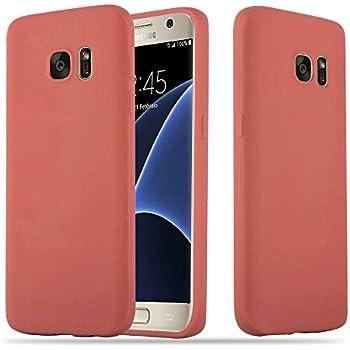 TBOC® Coque Gel TPU Bleu pour Samsung Galaxy S7 SM-G930F