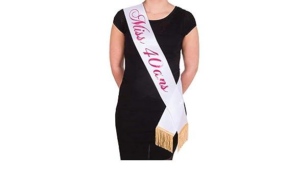 dernière collection luxe 2019 meilleurs FLOCKAVENUE Écharpe Miss 40 Ans | FABRIQUÉ en France: Amazon ...