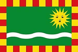 magFlags Flagge: Large Segrià | Representació de la bandera del Segrià | Querformat Fahne | 1.35m² | 90x150cm » Fahne 100% Made in Germany