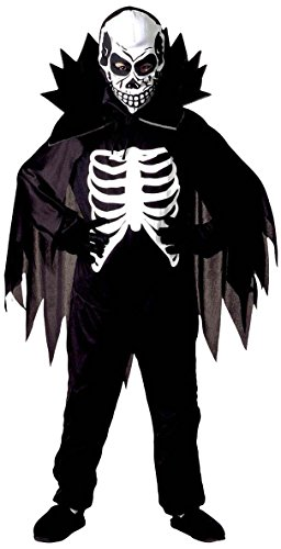 Scary Skeleton Kostüm,Gr.M(140 (Scary Kostüme Kind Skeleton)