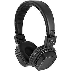 Auricular Diadema Ngs Artica Jelly Black - Estereo - Microfono Integrado - 20Hz-20Khz - Bluetooth+Edr - Ranura Sd - Usb - Manos Libres