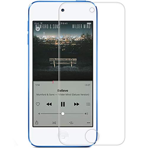 Popluxy Screen Protector for iPod Touch 6 Touch 5 Compatible with iPod Touch 6th/5th Generation iPod Screen Protector Guard Cover Film Ipod Screen Guard