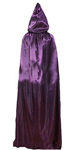 Halloween Kostüme Date (DATO Umhang Erwachsene Kinder Mantel Unisex Umhang mit Kapuze Halloween-Kostüm Karneval Fasching Kostüm Cape mit)