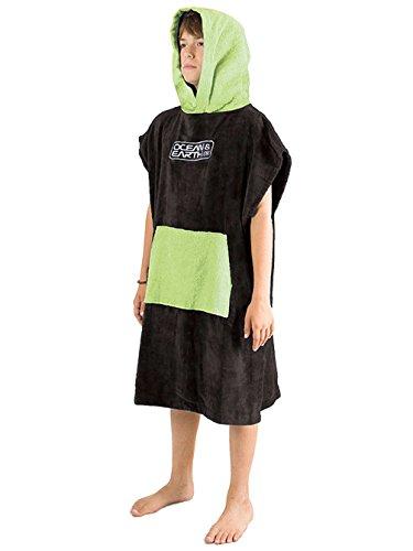 surf-accessories-ocean-earth-youth-a-capuche-poncho-uni-citron-vert