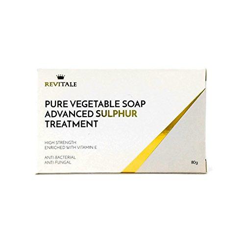 Revitale Tratamiento jabón azufre puro vegetal avanzado