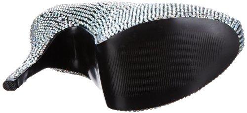 Pleaser - Teeze-06r, Scarpe col tacco Donna Multicolore (Mehrfarbig (Iridescent rhinestones))