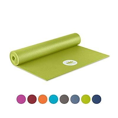 Lotuscrafts Yogamatte Mudra Studio XL [5mm Dicke] - schadstoffgeprüft nach OEKO TEX 100 - für Anfänger und Fortgeschrittene - Profi Matte für Yoga, Pilates, Sport und Training