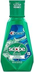 Crest Scope Classic Mouthwash Original Formula, 500 ml