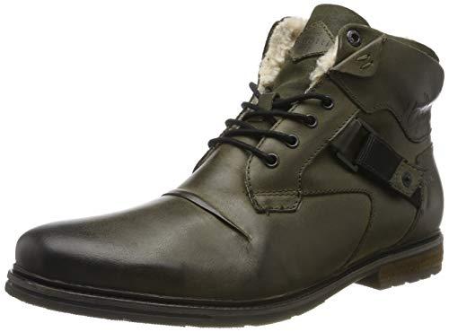 bugatti Herren 321622561000 Klassische Stiefel, Grün, 42 EU