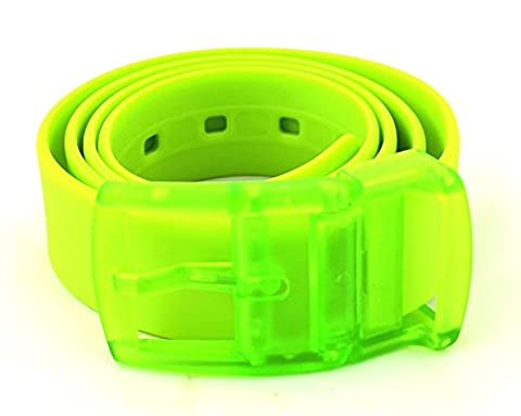 Neon Silikon-Gürtel, Unisex, 10 Farben