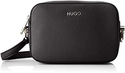 HUGO Damen 50402717 Schultertasche, Schwarz (Black), 6x13x19 cm