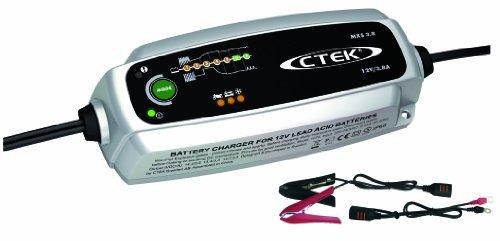 CTEK Mxs 3.8 Multi-Funktions Ladegerät mit 7-Stufen Programm, 12V 3.8 Amp (EU Stecker)