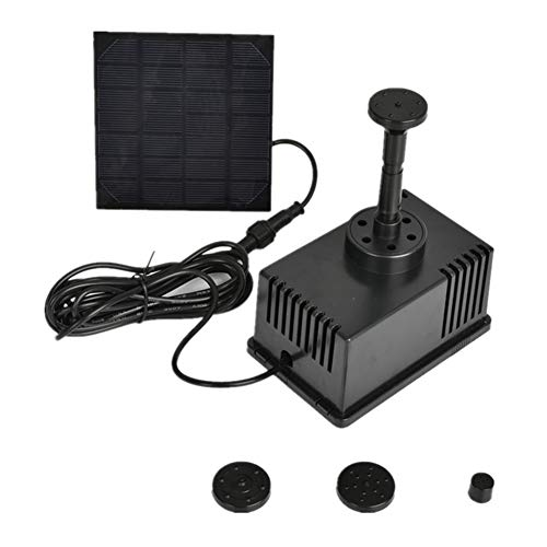 Sguan-wu Solar-Brunnen Wasserpumpe, Filter Brushless DC Gartenarbeit Patio Solar Power Bird Bad Wasser Brunnenpumpe - Zen-wasser-filter