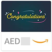 Amazon.ae eGift Card - Congratulations Bubbles EN