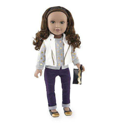 Journey Girls 18 inch Fashion Doll - Kyla (White Vest)