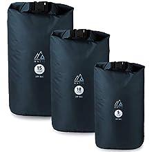 MNT10 Dry Bag Ultra-Light I Blau IPacksack in 5l, 10l, 15l I Wasserfeste Tasche Ultra-Light für Reisen und Outdoor I Trockenbeutel (Blau, 10 L)