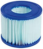 Lay-Z-Spa Antimicrobial Filter Cartridges for Hot Tub, Size VI, Twin Pack