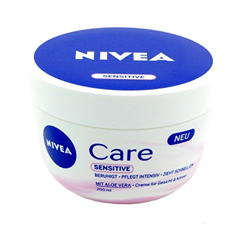 nivea care sensitive creme vergleichstest 04 2019. Black Bedroom Furniture Sets. Home Design Ideas