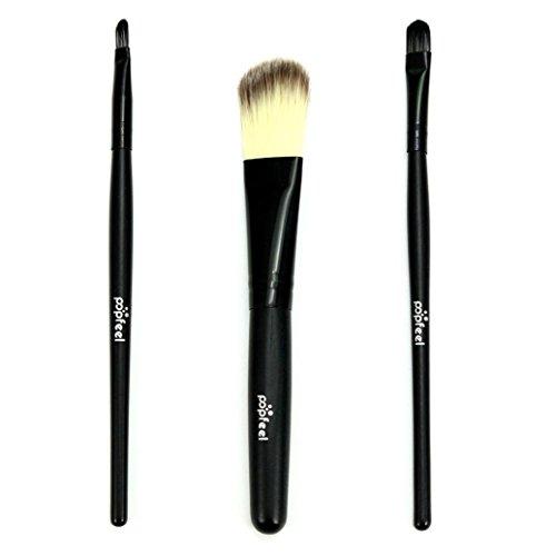 Clode® 3pcs Brosse de maquillage professionnel Portable