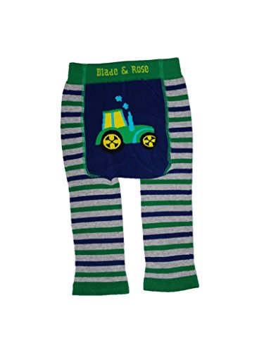 Blade and Rose Tractor Leggings + Matching Socks 2 Pack.grey