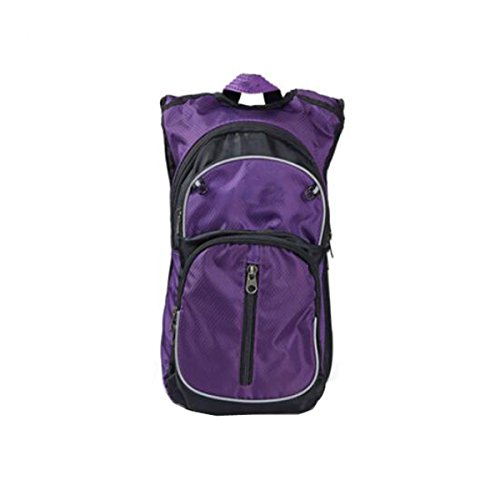 Xinming Im Freien Bergsteigen Wandern Schultern Reisen Sport Rucksäcke,Purple Purple